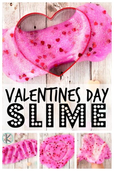 We love doing lots of funvalentines day activities during February. I just love the heart themes in pretty pink, red, and purple. Thisvalentines day slimeis super easy to whip up and will provide hours and hours of funvalentines day ideaswith your toddler, preschool, pre-k, kindergarten, first grade, and 2nd grade students.