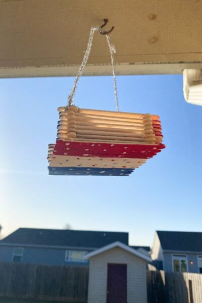 DIY Bird feeder for kids