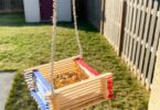 cute popsicle stick bird feeder. The best part about this bird feeder craft is it actually works and birds will flock to your home to eat while you get to enjoy bird watching. This is a fun spring craft for kids, activity for a bird theme, or summer activity for kids!