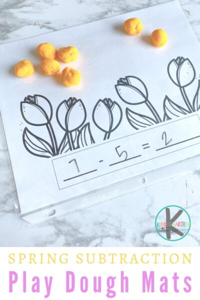 Teaching Subtraction with a hands-on manipulative that will engage young learners. These Subtraction with Playdough Mats are a simple, fun way for kids to visualize subtracting in kindergarten math. Simply downloadsubtraction printable pdf file and you are ready to play and learn with asubtraction activity.