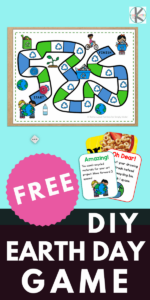 Our FREE Earth Day game will help your preschool, pre-k, kindergarten, and first grader will develop environmental awareness. This easy prepearth day activity can be made from recycled materials. Help your class have fun and learn about recycling, reusing, saving energy, and water. Simply print pdf file withrecycling game and you are ready to play and learn with thisrecycling activities for kindergarten.