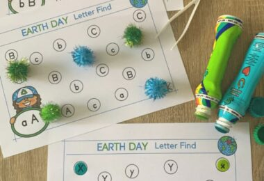 Did you know that Earth Day is celebrated on the 22nd of April? Plan fun Earth Day activities while working on letter recognition with these earth day worksheets. Use theseearth day printables with preschool, pre-k, and kindergarten age children. There is a page for each letter of the alphabet from a to z to go along with whatever letter of the week you are up to or as a review for what you've learned. Simply download pdf file withearth day worksheets for preschool and you are ready to play and learn with theseletter find worksheets.