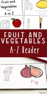 fruit and vegetable printables