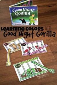 goodnight gorilla activities