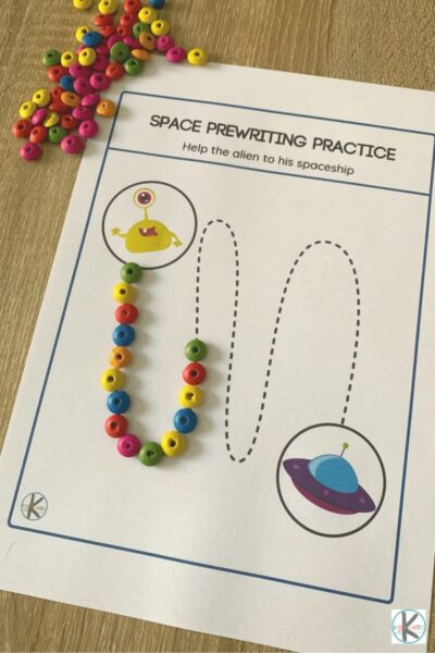 space worksheets for preschoolers