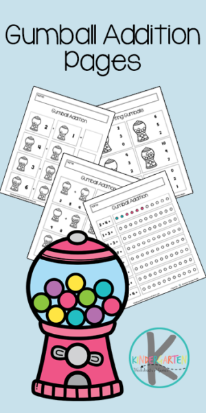Make learning math fun for kindergartners withgumball math! These free printable math worksheets are a fun way for early learners to practice counting and adding simple numbers togethers. There are serveral choices in this pack of print and go addition for kindergarten. Simply download kindergarten math worksheets pdf and you are ready to play and learn withlkg maths worksheetpages.