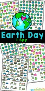 Earth Day I Spy Worksheets