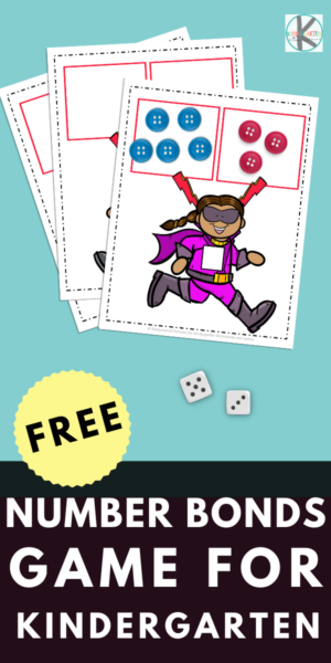 This fun number bond activity helps Kindergarten children practice number bonds up to 12. OurNumber Bond Game includes the superhero printable mats and recording sheet. This fun hands-on activity helps children explore the connections between numbers! Just download and play. Simply download pdf file withnumber bonds printable and you are ready to play and learn with a free printable number bonds to 10 games.