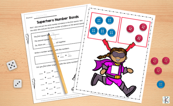 What are Number Bonds? In a nutshell, number bonds are pairs of numbers that make up a given number. Sometimes they will be called number pairs. For example, if the number is 6, the number bonds are as follows.