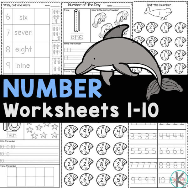 Count and trace with these FREE number worksheets 1-10. Download handy 1 to 10 worksheet pages for tracing numbers while having fun learning!