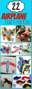 plane crafts for kids