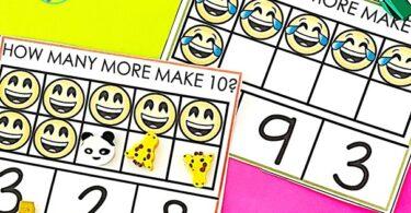 Making 10 activities