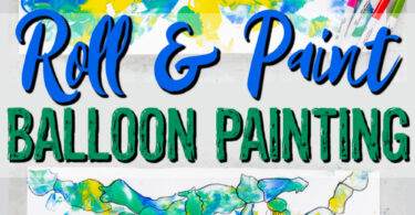 Ready for an outrageously FUNballoon activity for kids? Play, paint, and make a funsummer craftall at the same time with balloon painting ART!