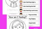 These free printablefeelings worksheets are a handy tool. Children can color the picture of a child expressing the featured emotion and trace the words in thisidentifying emotions worksheet. Thisemotions worksheet set is handy for preschool, pre-k, kindergarten, and first grade students. Simply print feelings and emotions worksheets and you are ready to play and learn as you colour thesecoloring pages for kids.
