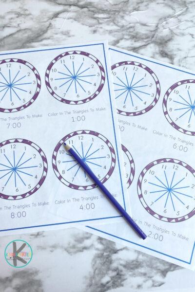 Telling Time Worksheets Kindergarten