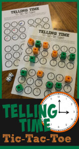 telling time games