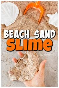 beach sand slime recipe for kids