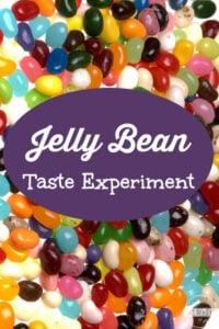 jelly bean senses experiments for kids