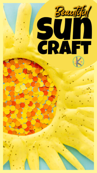 Looking for a cute, cheerfulsun craft to make this summer? These sun craft ideasare a great way to celebrate the warm sun that makes summer days so cheery while having fun making a craft that strengthen hands and motor skills too. Try one of thesesun arts and crafts with toddler, preschool, pre-k, kindergarten, first grade, 2nd grade and 3rd graders. You will love that thissummer craft for preschoolers uses cute hole punches for a unique depth and puffy paint for a bold look.