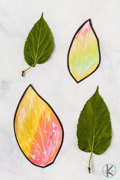Fall crafts for kindergarten