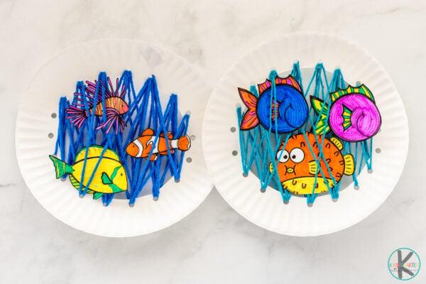 Fish Craft for Preschoolers