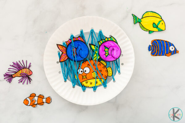 Fish Crafts for Toddlers