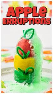 apple erruptions science experiment