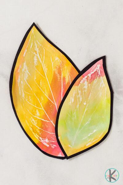leaf crafts for kindergarten