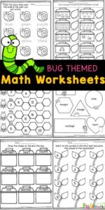 worm math worksheets