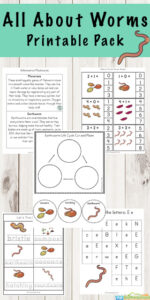 worm worksheets