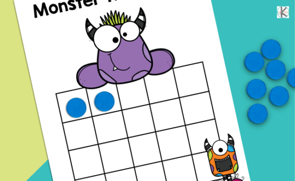 Number games for kindergarten