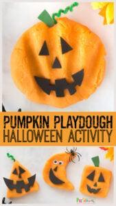 Pumpkin Playdough 2