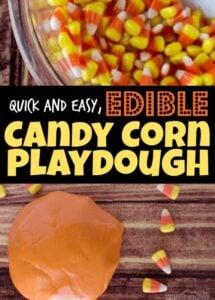 edible candy-corn-playdough