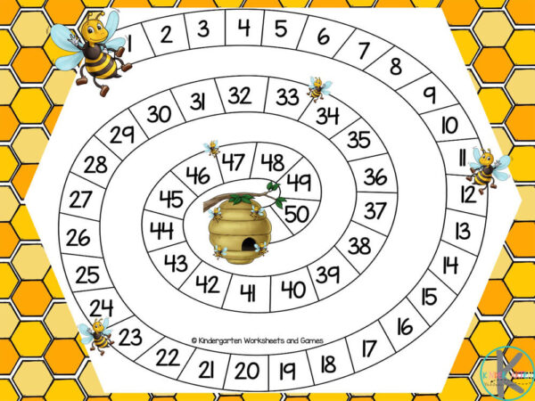counting 1-50 activity