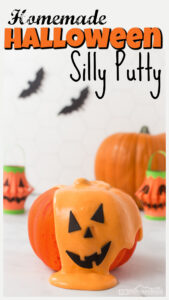 halloween diy silly putty