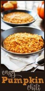 easy pumpkin chili
