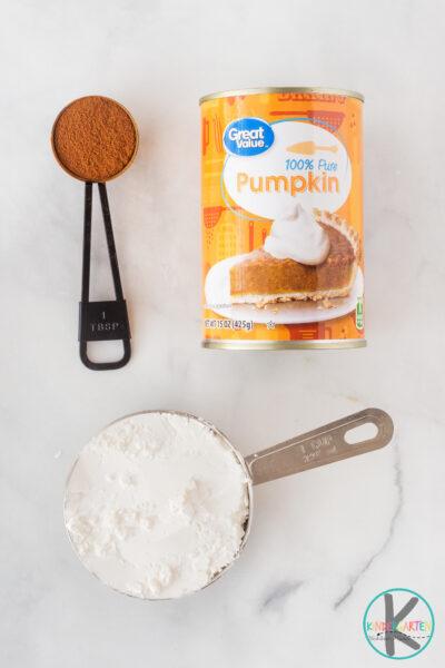 edible pumpkin playdough