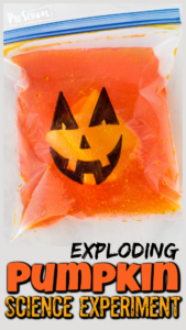 exploding halloween science experiments