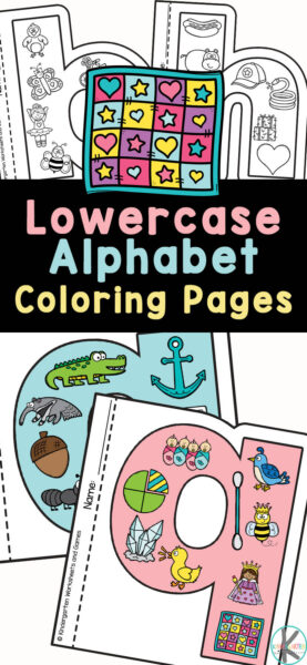 Children are going to love these unique, fun-to-color free Lowercase Letter Coloring Pages. Each of these pages is shaped like the lower case letter and is filled with lots of cute clipart starting with the same beginning sound as the featured letter. Use these abc coloring pages as a fun phonics activity and to build volcabulary as well. These alphabet coloring pages preschool, toddlers, pre-k, and kindergarten they can make into a really cool alphabet book. Simply print free alphabet coloring book printable pdf and you are ready to play and learn your ABCs from A to Z.